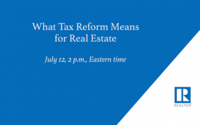 Learn How Tax Reform Might Affect Home Sales