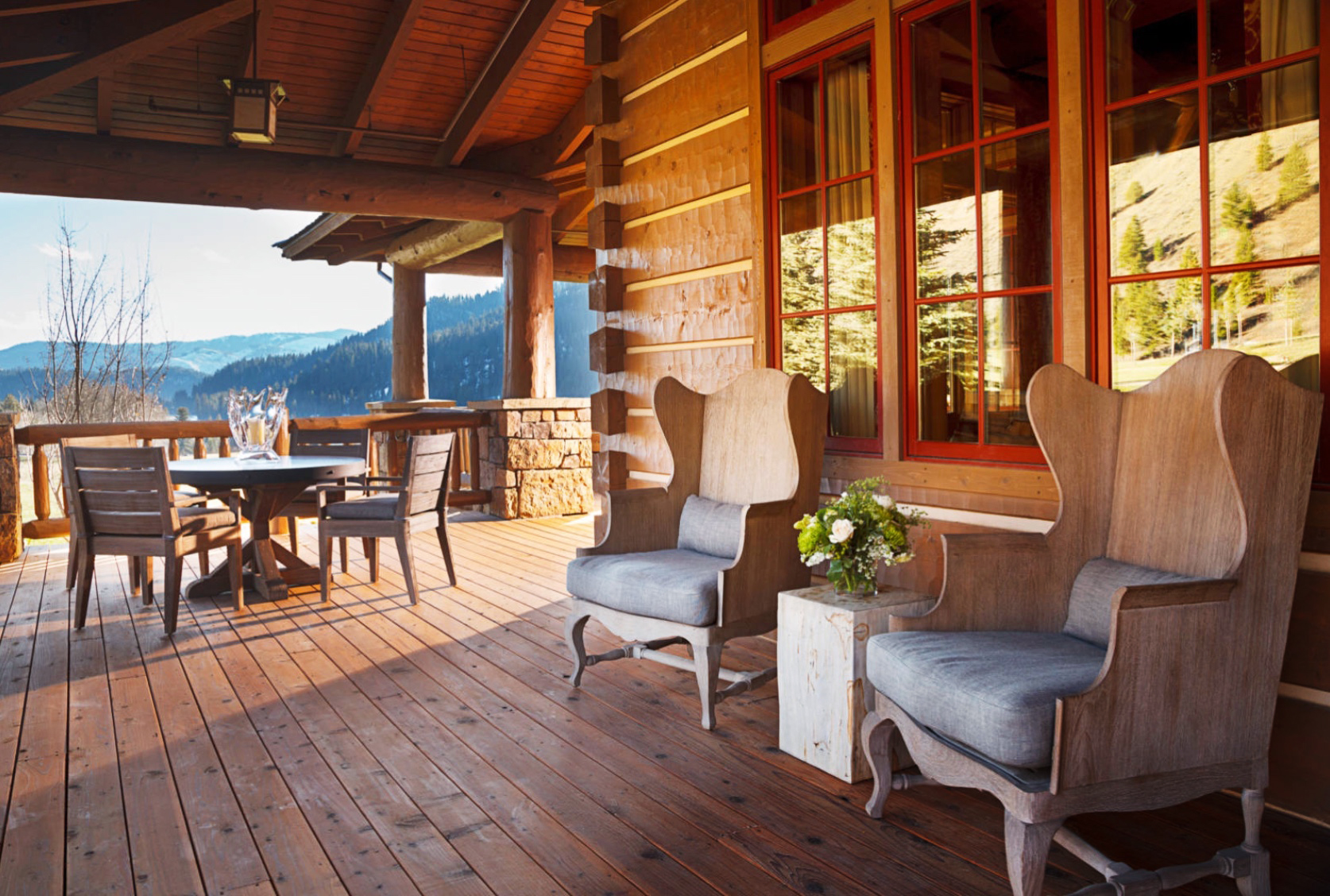 SnakeRiver_Porch at sunset-dark corners