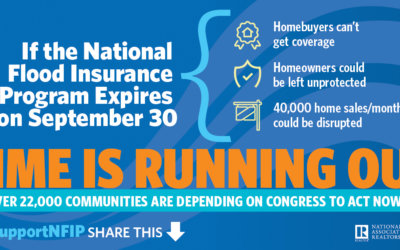 With Congress Back from Recess, Realtors® Call for Action on Flood Insurance