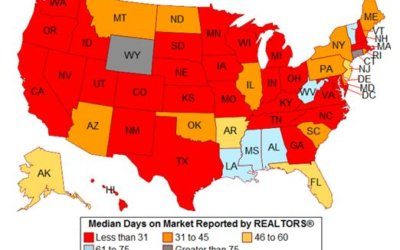 In Which States Did Properties Sell Most Quickly in July 2017?