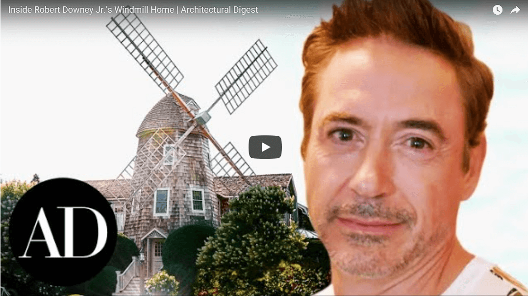 Inside Robert Downey Jr's Windmill Home | Architectural Digest